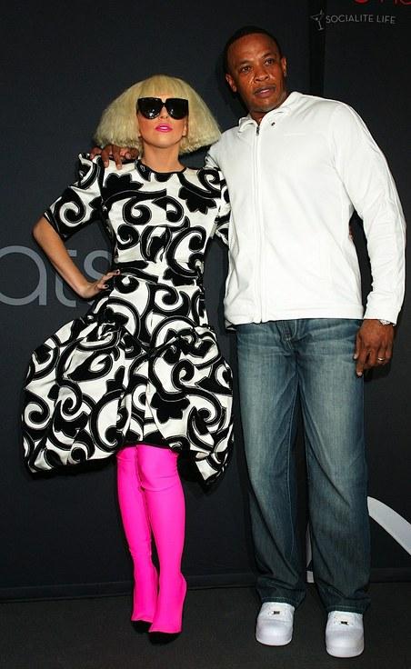 Леди Гага и Доктор Дре